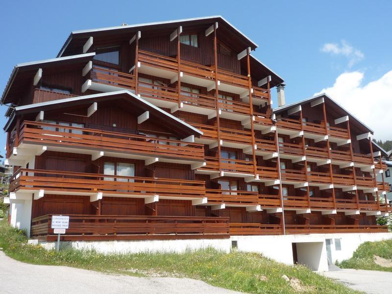 Vacaciones en montaña Résidence Mont Blanc A - Les Saisies - Verano