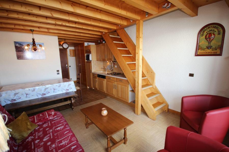 Vacaciones en montaña Apartamento 3 piezas mezzanine para 8 personas (129) - Résidence Mont Blanc A - Les Saisies