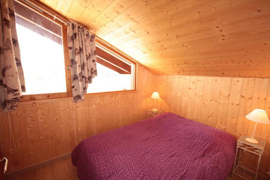 Vacaciones en montaña Apartamento 3 piezas mezzanine para 8 personas (129) - Résidence Mont Blanc A - Les Saisies - Cama doble