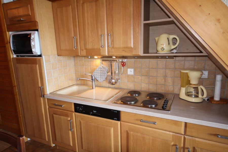 Vacaciones en montaña Apartamento 3 piezas mezzanine para 8 personas (129) - Résidence Mont Blanc A - Les Saisies - Kitchenette