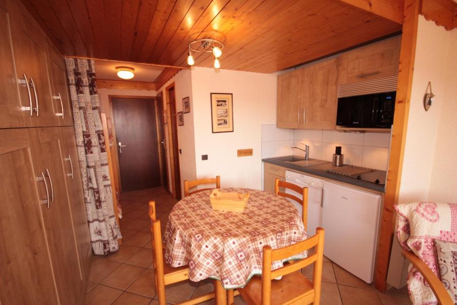 Vacaciones en montaña Estudio -espacio montaña- para 4 personas (114) - Résidence Mont Blanc A - Les Saisies - Kitchenette