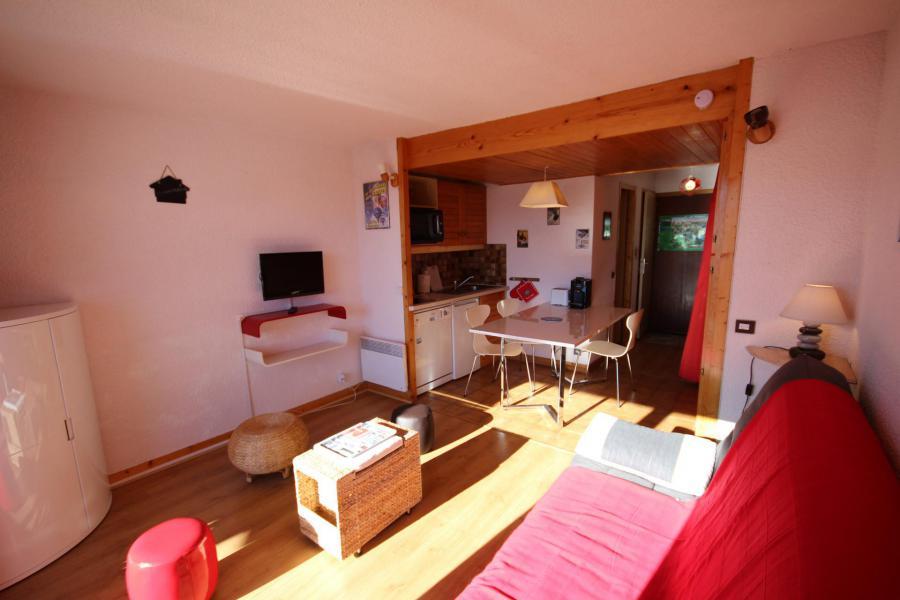 Каникулы в горах Квартира студия со спальней для 4 чел. (115) - Résidence Mont Blanc A - Les Saisies - Салон