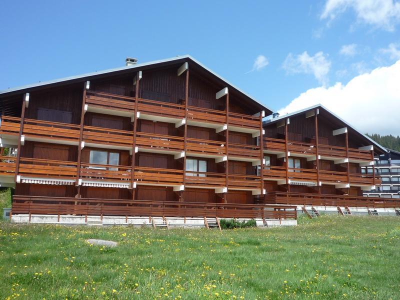 Vacaciones en montaña Résidence Mont Blanc C - Les Saisies - Verano