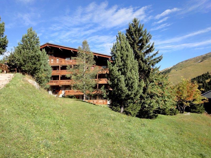 Location au ski Residence Mont Vallon - Mottaret - Extérieur été