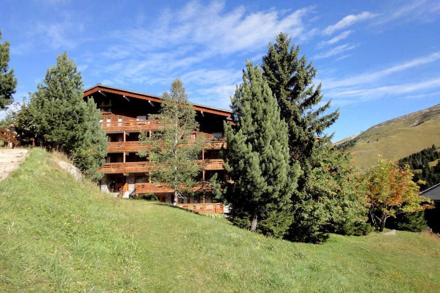 Location au ski Résidence Mont Vallon - Méribel-Mottaret - Extérieur été