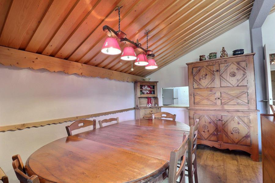 Vacances en montagne Appartement 2 pièces cabine 6 personnes (MTV036) - Résidence Mont Vallon - Méribel-Mottaret - Salle à manger