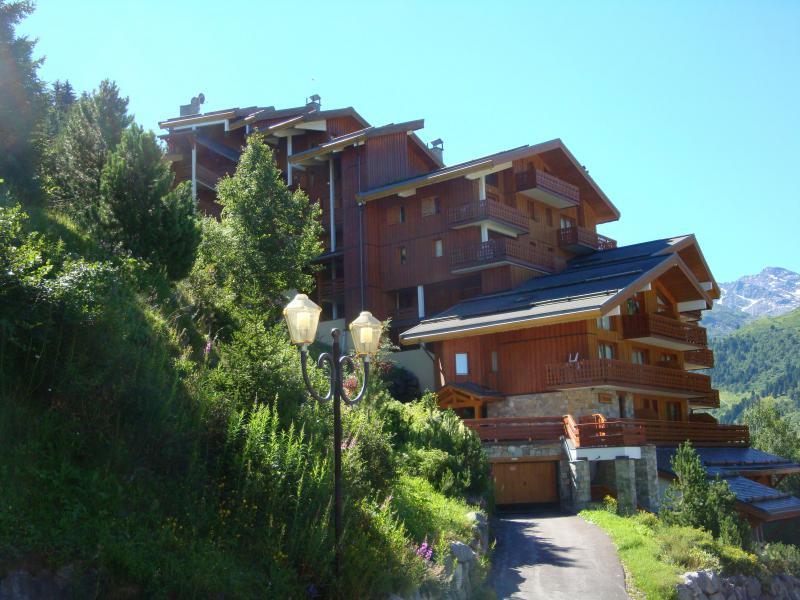 Location au ski Résidence Moraine - Méribel-Mottaret - Extérieur été