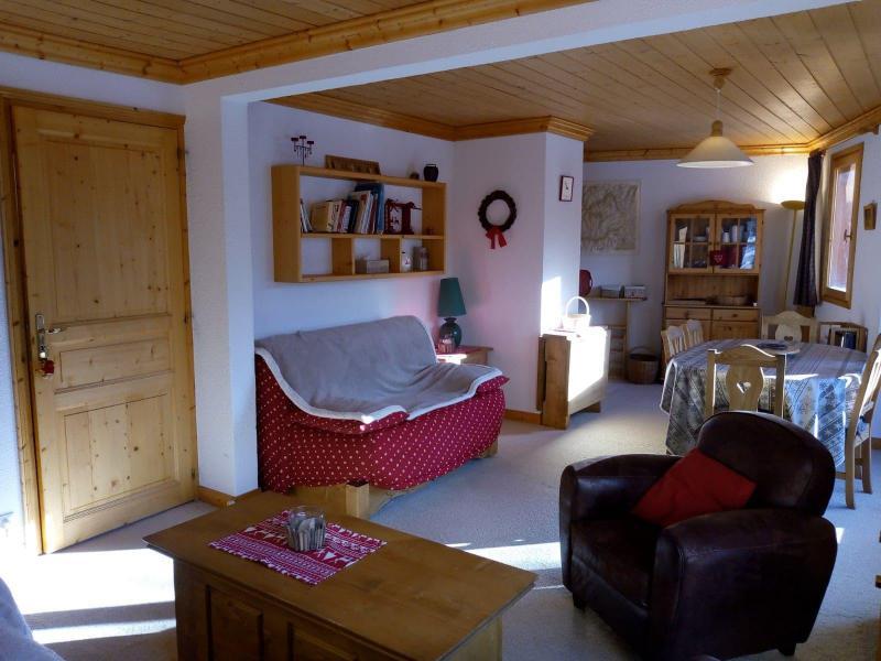Vacances en montagne Appartement 3 pièces 7 personnes (021) - Résidence Moraine - Méribel-Mottaret - Banquette-lit