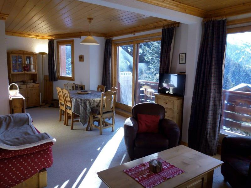 Vacances en montagne Appartement 3 pièces 7 personnes (021) - Résidence Moraine - Méribel-Mottaret - Canapé