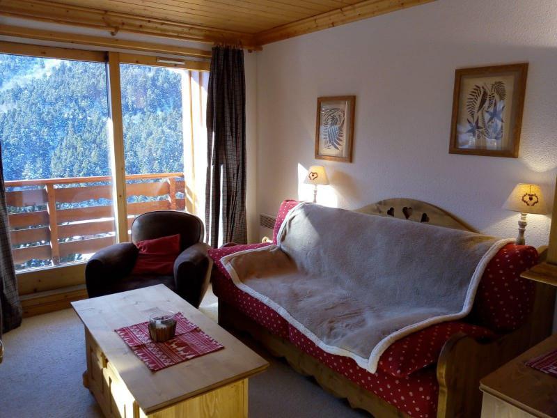 Vacances en montagne Appartement 3 pièces 7 personnes (021) - Résidence Moraine - Méribel-Mottaret - Coin séjour