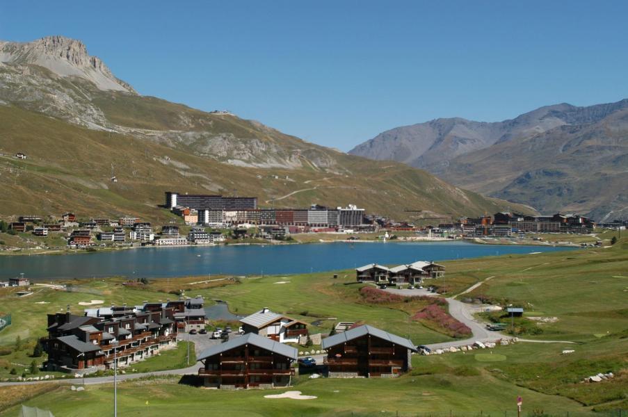Location au ski Appartement 2 pièces 5 personnes (33) - Residence Moutieres B - Tignes - Extérieur été