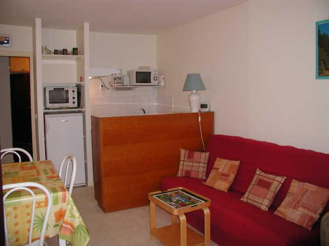 Holiday in mountain resort Logement 1 pièces 4 personnes (NS450) - Résidence Neige et Soleil - Gourette - Living room