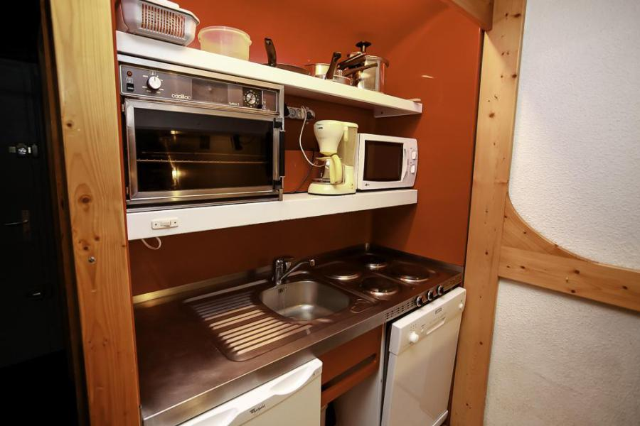 Wakacje w górach Apartament 2 pokojowy z alkową 6 osób (0100) - Résidence Nova 5 - Les Arcs - Aneks kuchenny