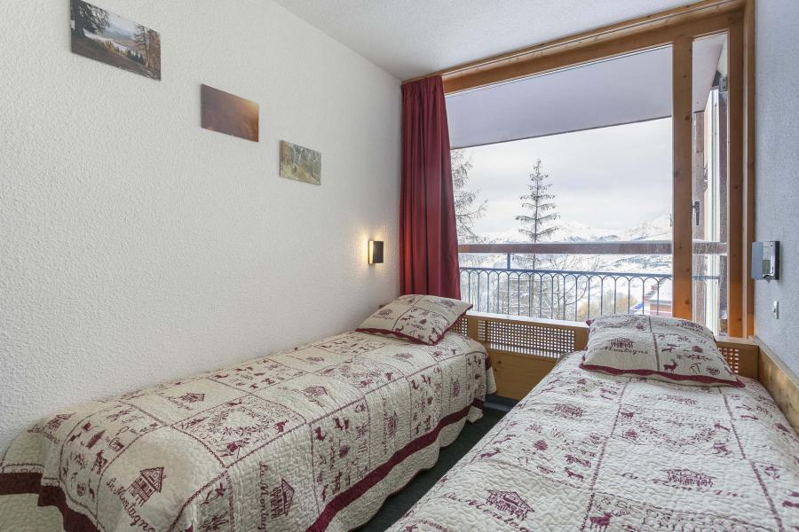 Wakacje w górach Apartament 2 pokojowy z alkową 6 osób (0100) - Résidence Nova 5 - Les Arcs - Pokój