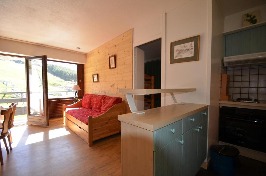 Vacances en montagne Appartement 2 pièces 5 personnes (43) - Résidence Oisans - Les Menuires - Séjour
