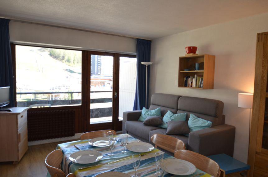 Vacances en montagne Appartement 2 pièces 6 personnes (44) - Résidence Oisans - Les Menuires - Séjour
