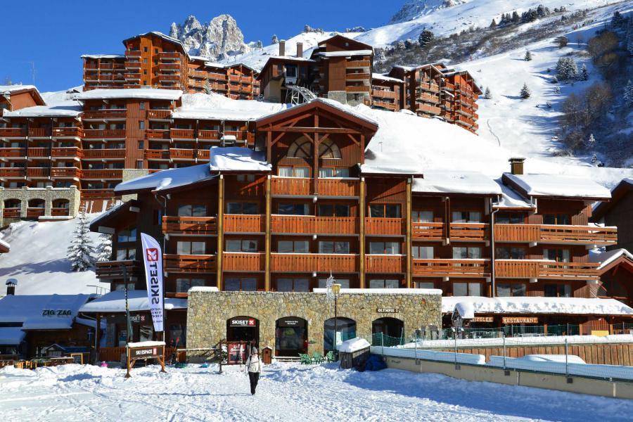 Vacaciones en montaña Résidence Olympie I - Méribel-Mottaret