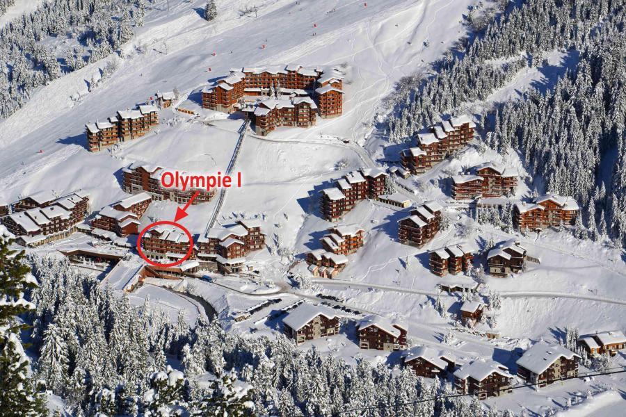 Vacances en montagne Résidence Olympie I - Méribel-Mottaret - Extérieur été