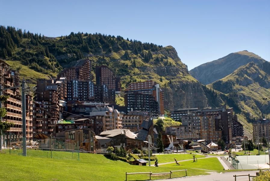 Location au ski Résidence P&V Premium l'Amara - Avoriaz - Extérieur été