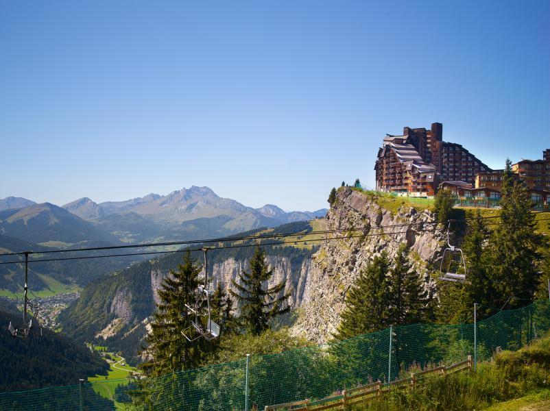 Ski verhuur Résidence P&V Premium l'Amara - Avoriaz - Buiten zomer