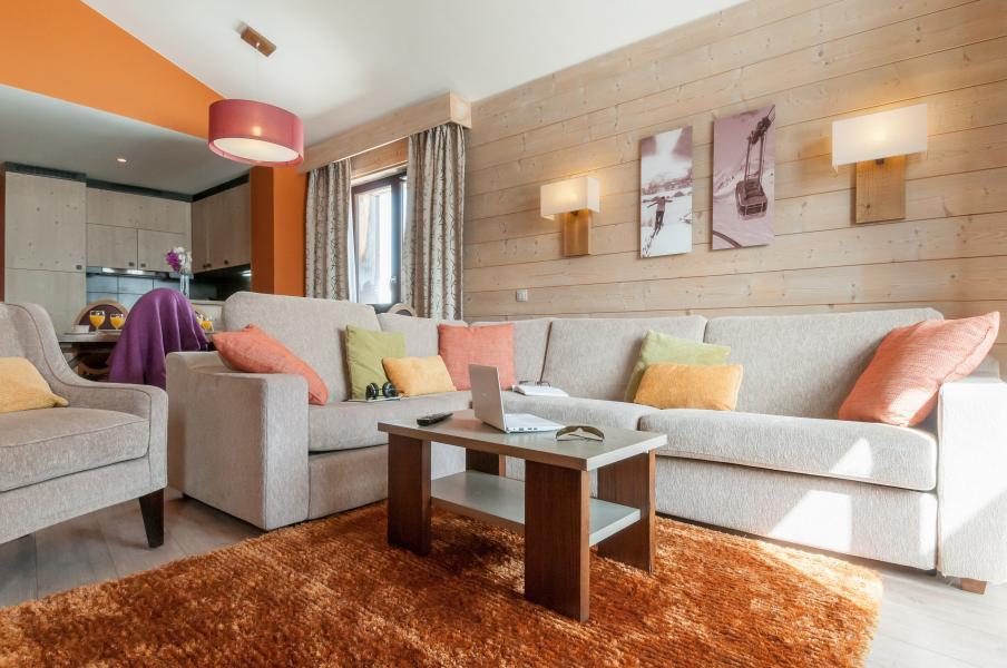 Vacaciones en montaña Résidence P&V Premium l'Amara - Avoriaz - Sofá