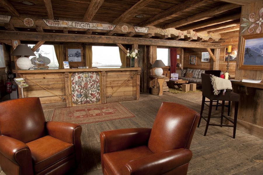 Vakantie in de bergen Résidence P&V Premium l'Ecrin des Neiges - Tignes - Receptie