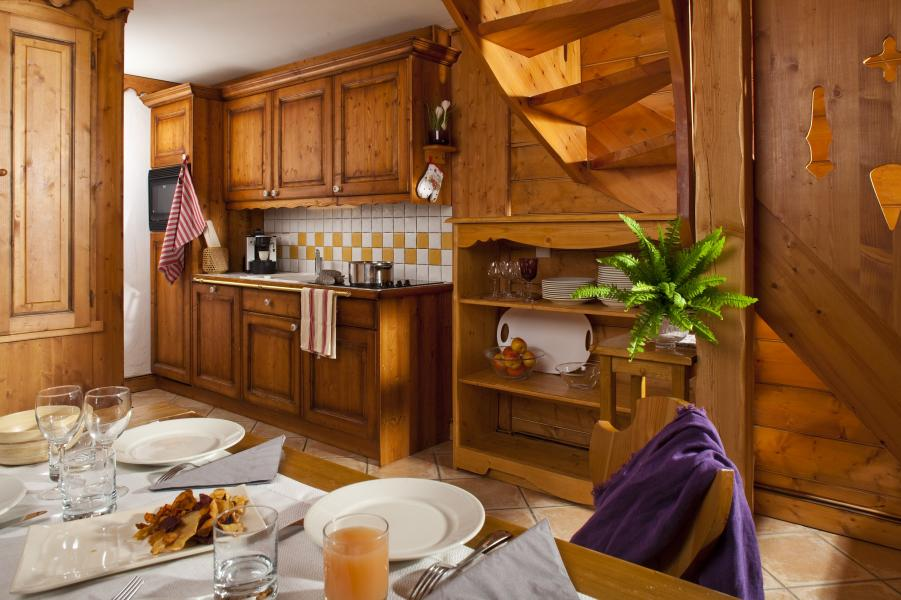 Urlaub in den Bergen Résidence P&V Premium l'Ecrin des Neiges - Tignes - Esszimmer