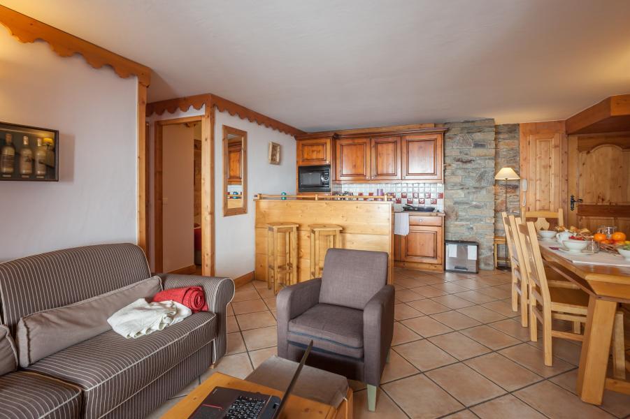 Urlaub in den Bergen Résidence P&V Premium l'Ecrin des Neiges - Tignes - Küche
