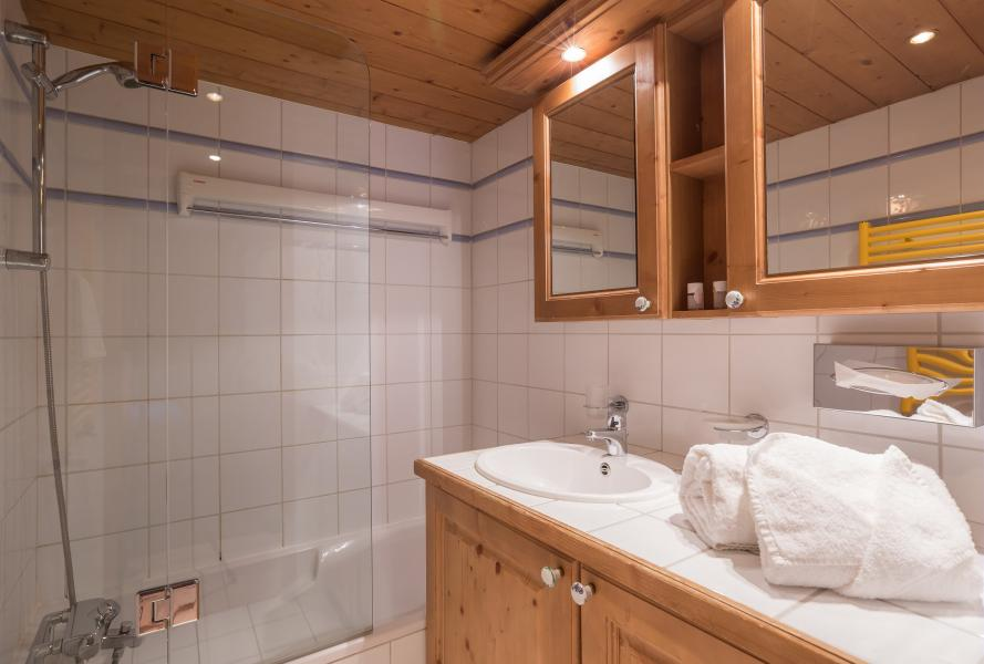 Urlaub in den Bergen Résidence P&V Premium la Ginabelle - Chamonix - Badewanne