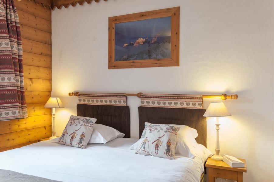 Urlaub in den Bergen Résidence P&V Premium la Ginabelle - Chamonix - Doppelbett