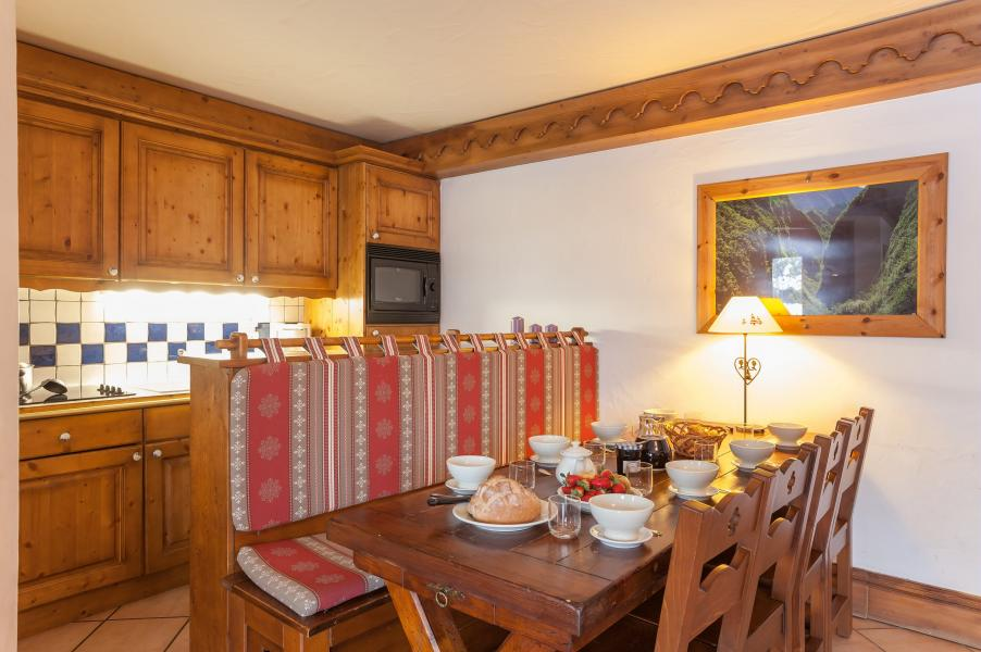 Urlaub in den Bergen Résidence P&V Premium la Ginabelle - Chamonix - Kochnische