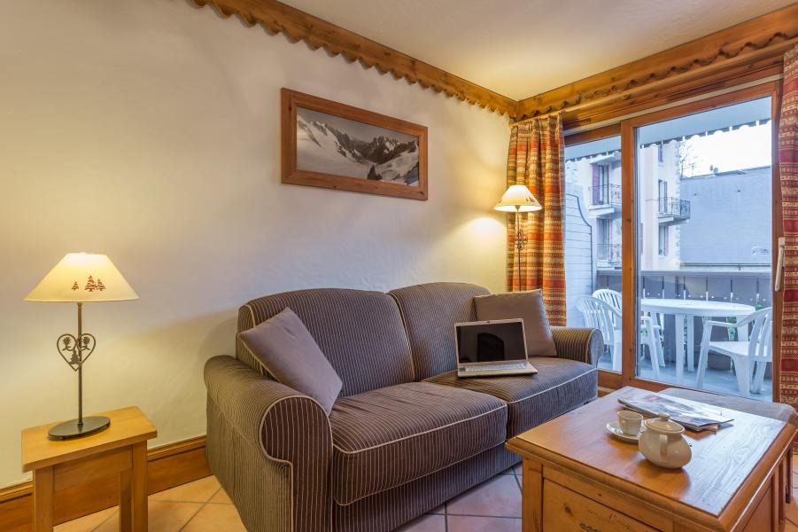 Vakantie in de bergen Résidence P&V Premium la Ginabelle - Chamonix - Sofa