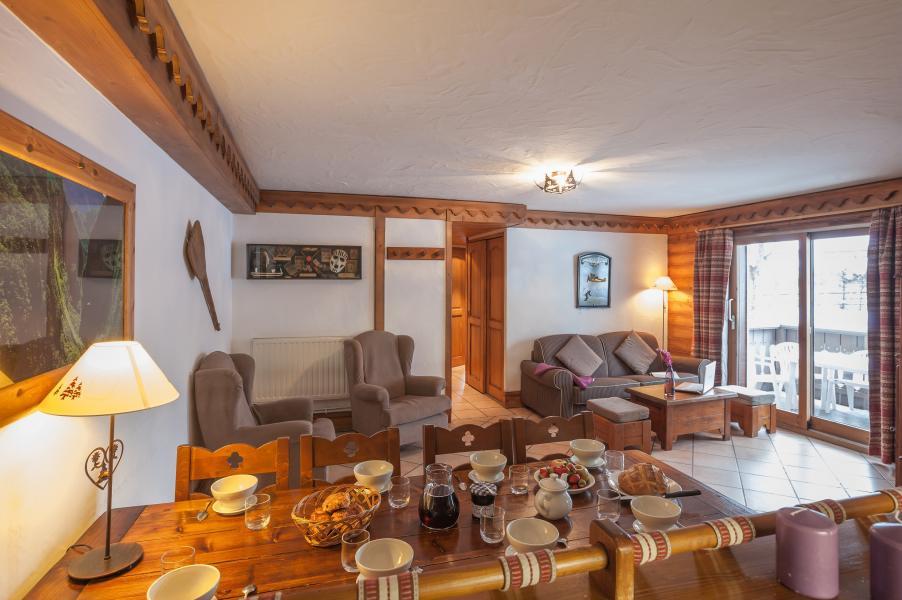 Vakantie in de bergen Résidence P&V Premium la Ginabelle - Chamonix - Woonkamer