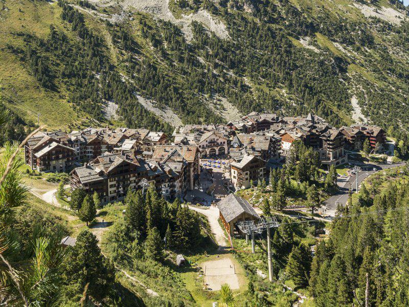 Location au ski Résidence P&V Premium le Village - Les Arcs - Extérieur été