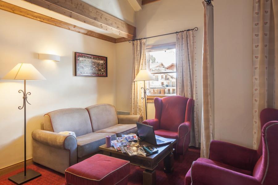 Vacances en montagne Résidence P&V Premium le Village - Les Arcs - Canapé