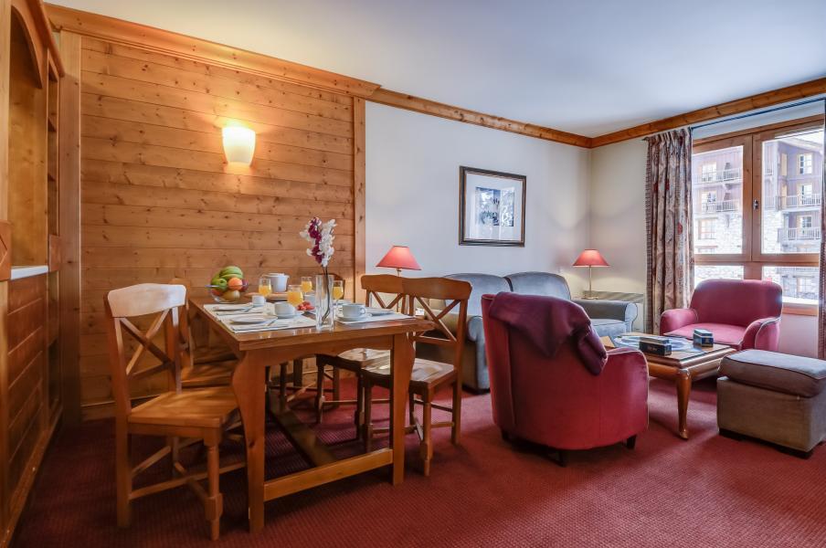 Vakantie in de bergen Résidence P&V Premium le Village - Les Arcs - Eethoek