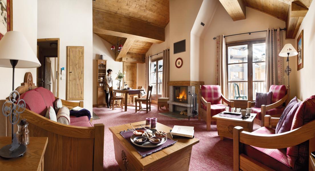 Vacances en montagne Résidence P&V Premium le Village - Les Arcs - Séjour