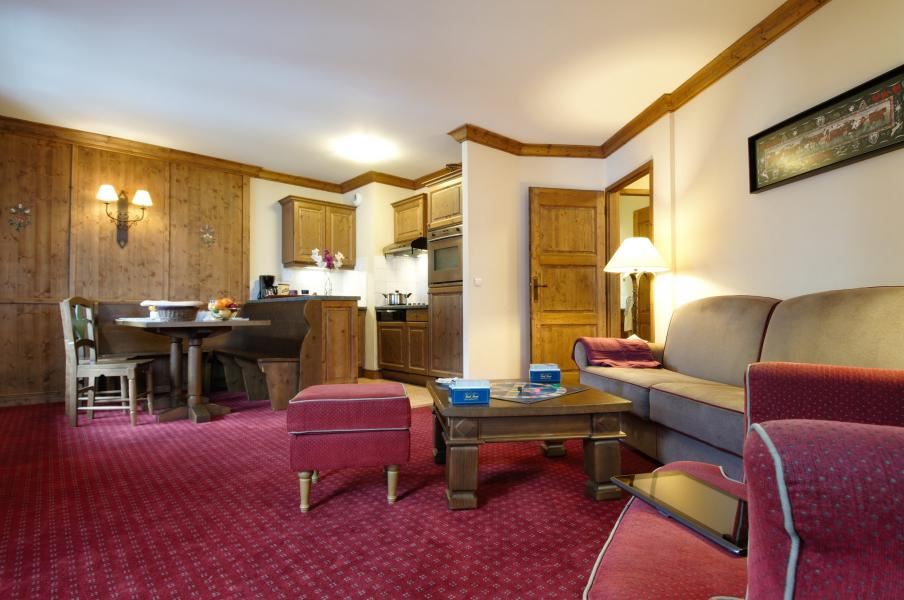 Vakantie in de bergen Résidence P&V Premium le Village - Les Arcs - Woonkamer