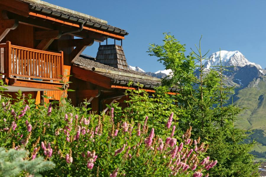 Wynajem na narty Résidence P&V Premium les Alpages de Chantel - Les Arcs - Na zewnątrz latem