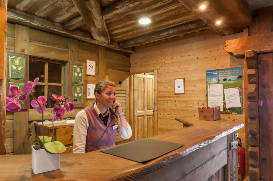Vakantie in de bergen Résidence P&V Premium les Alpages de Chantel - Les Arcs - Receptie