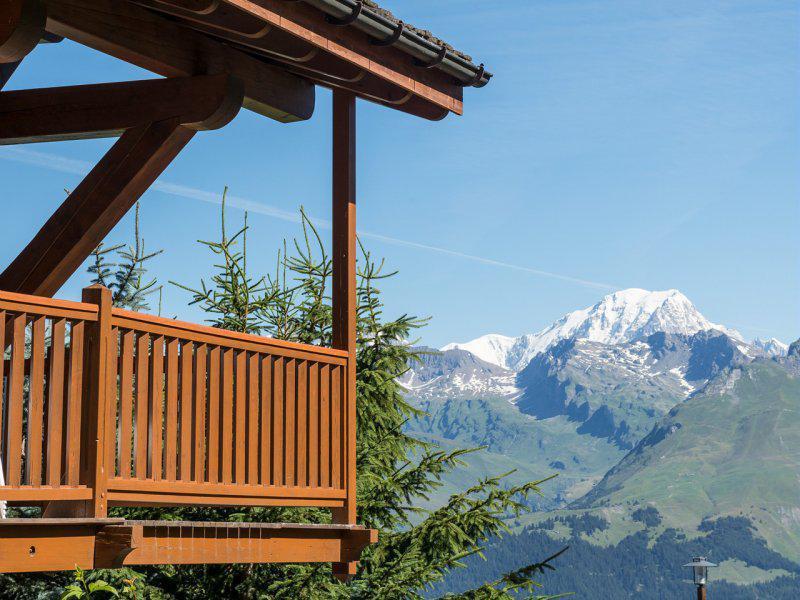 Vacances en montagne Résidence P&V Premium les Alpages de Chantel - Les Arcs - Extérieur été