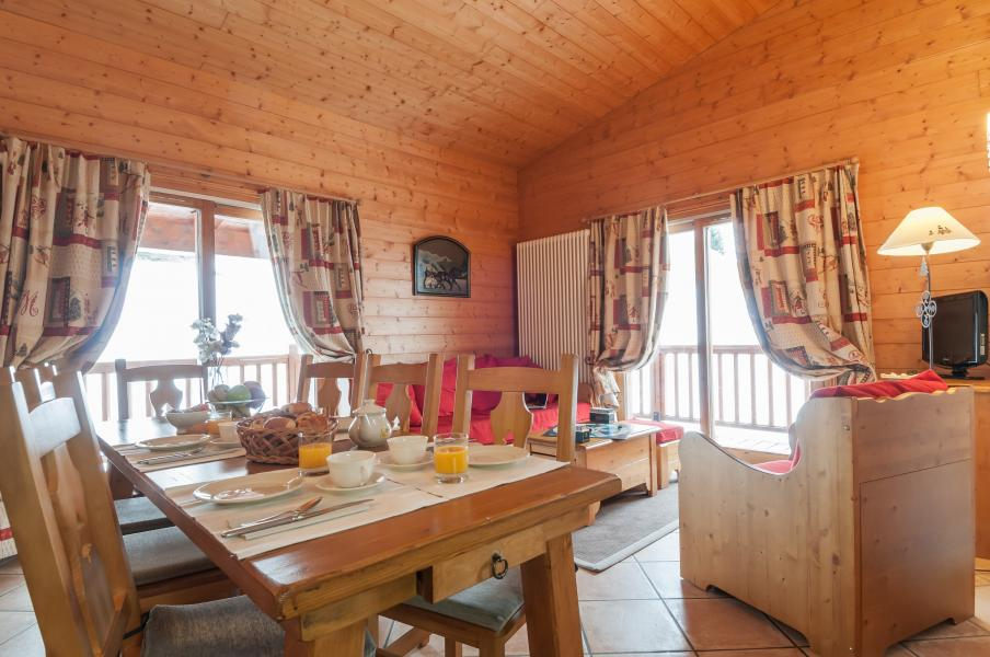 Urlaub in den Bergen Résidence P&V Premium les Alpages de Chantel - Les Arcs - Essbereich