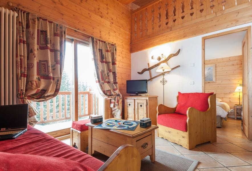 Urlaub in den Bergen Résidence P&V Premium les Alpages de Chantel - Les Arcs - Kleines Wohnzimmer