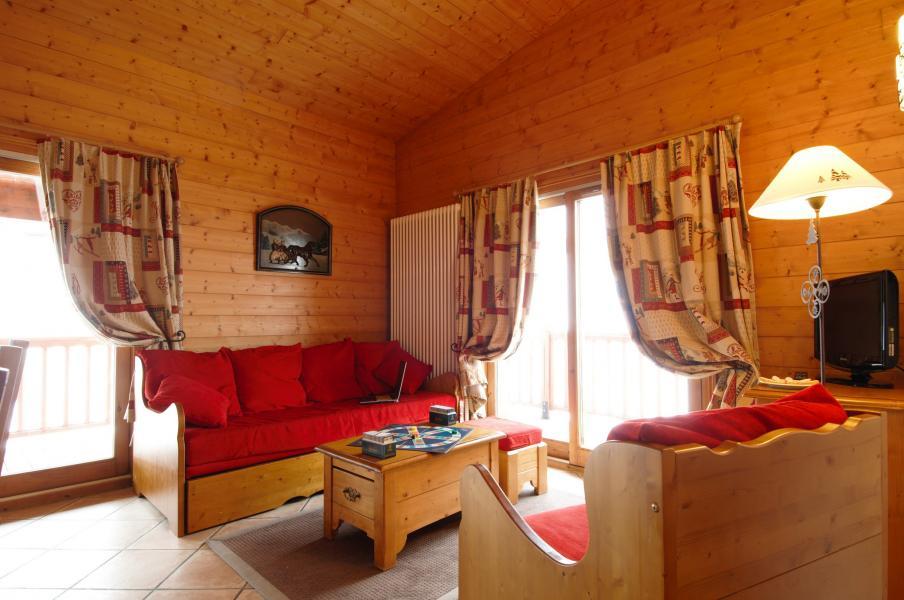 Urlaub in den Bergen Résidence P&V Premium les Alpages de Chantel - Les Arcs - Sitzbank