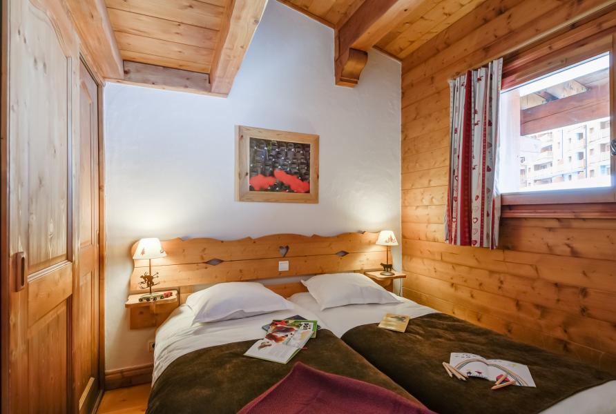 Vakantie in de bergen Résidence P&V Premium les Alpages de Chantel - Les Arcs - Zolderkamer