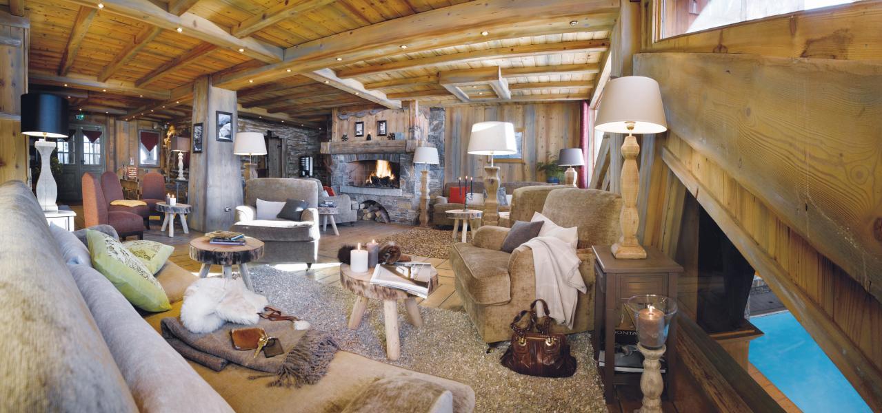 Vakantie in de bergen Résidence P&V Premium les Alpages de Reberty - Les Menuires - Receptie