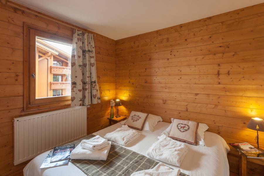 Urlaub in den Bergen Résidence P&V Premium les Alpages de Reberty - Les Menuires - Doppelbett