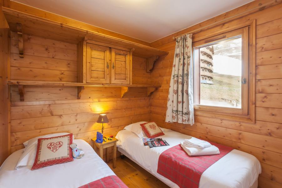 Urlaub in den Bergen Résidence P&V Premium les Alpages de Reberty - Les Menuires - Einzelbett