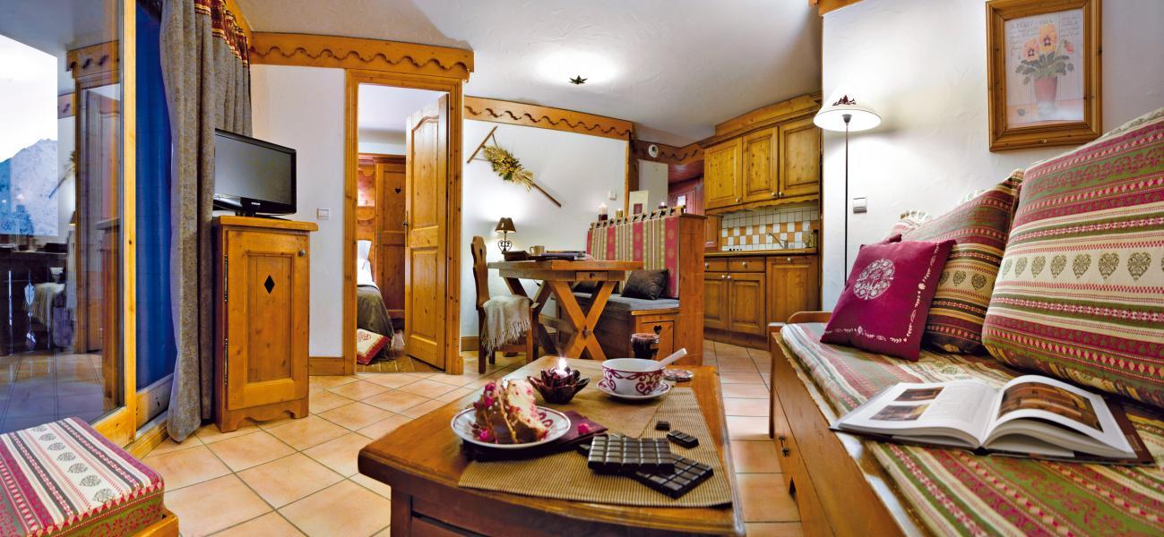 Vacances en montagne Résidence P&V Premium les Alpages de Reberty - Les Menuires - Séjour