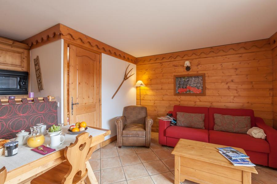 Vakantie in de bergen Résidence P&V Premium les Alpages de Reberty - Les Menuires - Sofa